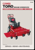 1990 - 2001 Toro Proline Hydrostatic Walk-Behind Mower Clymer Service Manual (SKU: P210-0872889181)