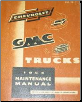 1954 Chevrolet & GMC Trucks Factory Shop Manual (SKU: PSD537)
