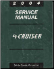 2004 Chrysler PT Cruiser Service Manual (SKU: 8137004061)