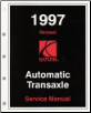 1997 Saturn S-Series: SC, SL & SW Automatic Transaxle Factory Service Manual (SKU: S0397011K3A)