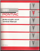 1991 Pontiac Grand Am Factory Service Manual (SKU: S9110N)