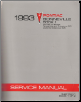 1993 Pontiac Bonneville Factory Service Manual - 2 Volume Set (SKU: S9310H1-2)