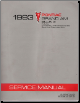 1993 Pontiac Grand Am Factory Service Manual - 2 Volume Set (SKU: S9310N1-2)