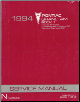 1994 Pontiac Grand Am Factory Service Manual, 2 Volume Set (SKU: S9410N1-2)