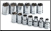 "S-K 13-Piece 3/8"" Drive 6-Point Standard Metric Socket Set (SKU: SKT13)"