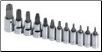 "12-Piece 1/4"" & 3/8"" Drive Tamper-Proof TORX Bit Set (SKU: SKT19768)"