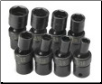 "S-K 8-Piece 3/8"" Drive 6-Point Swivel Fractional Impact Socket Set (SKU: SKT33300)"