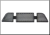 ROUSH 1999 - 2004 Ford Mustang Stage 3 (SM01) Lower Bumber Grille (SKU: SM01-1110-AA)