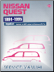 1994 - 1995 Nissan Quest Factory Service Manual (SKU: SM4E0V40U0)