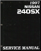 1997 Nissan 240SX Factory Service Manual (SKU: SM7E0S14U0)