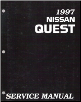 1997 Nissan Quest Factory Service Manual (SKU: SM7E0V40U0)