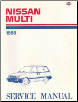 1988 Nissan Multi M10 Series Factory Service Manual (SKU: SM8E0M10C0)