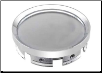 ROUSH® 1999 - 2012 Mustang, 2004 - 2008 F-150, Chrome Center Caps Plain SM99-2400-C (SKU: 402556)