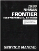 1999 Nissan Frontier 2.4L, KA Engine Factory Service Manual (SKU: SM9E0D22U0)