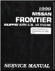 1999 Nissan Frontier 3.3L, VG Engine Factory Service Manual (SKU: SM9E0D22U1)
