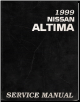 1999 Nissan Altima Factory Service Manual (SKU: SM9E0L30U0)
