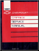1991 Chevrolet Caprice Factory Service Manual (SKU: ST32991SED)