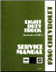 1980 Chevrolet Light Duty Truck 10-20-30 Series Service Manual (SKU: ST33080)