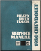 1980 Chevrolet & GMC Heavy Duty Truck Service Manual (SKU: ST33280)