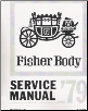 1979 General Motors Factory Fisher Body Service Manual (SKU: ST33579)