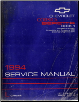 1994 Chevrolet Corsica & Beretta Factory Service Manual - 2 Volume Set (SKU: ST37494-1-2)