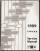 1989 Chevrolet Cavalier Factory Service Manual (SKU: ST36689)