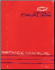 1993 Chevrolet Cavalier Factory Service Manual (SKU: ST36693)