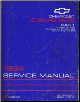 1994 Chevrolet Cavalier Factory Service Manual - 2 Volume Set (SKU: ST366941-2)