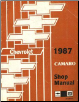 1987 Chevrolet Camaro Factory Service Manual (SKU: ST36887)