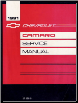 1991 Chevrolet Camaro Factory Service Manual (SKU: ST36891)