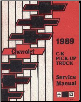 1989 Chevrolet GMC C/K Pick Up Truck Service Manual (SKU: ST37589)