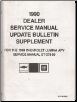 1990 Chevrolet Lumina Service Manual Update (SKU: ST37890SB)