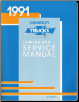 1991 Chevrolet Lumina APV Minivan Factory Service Manual (SKU: ST37891)
