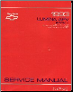 1993 Chevrolet Lumina APV Factory Service Manual - 2 Volume Set (SKU: ST378931-2)