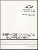 1993 Chevrolet Lumina Variable Fuel Factory Service Manual Supplement (SKU: ST37993M)