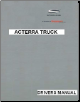 Sterling Acterra Factory Drivers Manual  (SKU: STI401)
