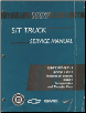 1997 Chevrolet S10, Blazer, GMC S15, Sonoma, Jimmy, Envoy & Oldsmobile Bravada (S/T Platform) Truck Factory Service Manual - 2 Volume Set (SKU: GMT97ST-1-2)