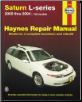 2000 - 2004 Saturn L-Series: All Models, Haynes Repair Manual (SKU: 1563925419)
