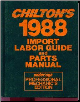 1981 - 1988 Chilton's Import Labor Guide & Parts Manual (SKU: 0801978122)