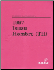 1997 Isuzu Hombre (TH) Factory Workshop Manual - 2 Volume Set (SKU: TH097WSML01-2)