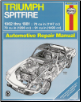 1962 - 1981 Triumph Spitfire Haynes Repair Manual (SKU: 1850100225)