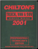 1997 - 2001 Chilton's Truck & Van Service Manual, Shop Edition (SKU: 0801993083)