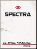 2002 Kia Spectra Factory Service Manual (SKU: UC020PS010)
