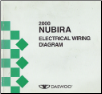 2000 Daewoo Nubira Factory Wiring Diagram Manual (SKU: UPL000801)