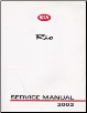 2002 Kia Rio Factory Service Manual Supplement (SKU: UR020PS010)