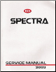 2003 Kia Spectra Factory Service Manual (SKU: US030PS010)