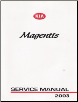 2004 Kia Optima / Magentis Factory Service Manual (SKU: UV040PS010M)