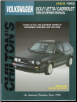 1990 - 1993 Volkswagen Cabriolet, Golf and Jetta Chilton's Total Car Care Manual (SKU: 0801984297)