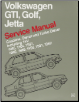 1985 - 1992 Volkswagen Original Factory Repair Manual GTI, Golf, Jetta (Gasoline, Diesel & Turbo Diesel, including 16V) (SKU: BENTLEY-VG92)