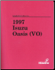 1997 Isuzu Oasis (VO) Factory Workshop Manual (SKU: VO097WSML01)